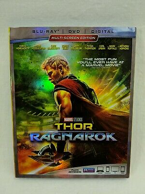Thor: Ragnarok (Blu-ray/DVD, 2018, 2-Disc Set, Includes Digital Copy)