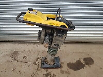 "Wacker Neuson Trench Rammer Bs502 Eco 2014 Year 10"" Foot Jumping Jack Compactor"