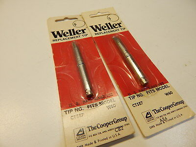 "Weller 0.125/"" x 3.17mm Screwdriver Tip for W60P Irons CT5C7 RC 5PK"