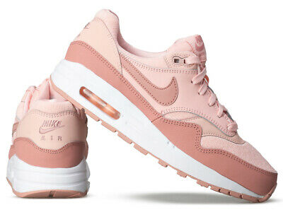 huge selection of 5aa8c e5f85 NIKE AIR MAX 1 Gr.38 Schuhe shoe Sneaker Damen rosa Sport Turn Neu ...