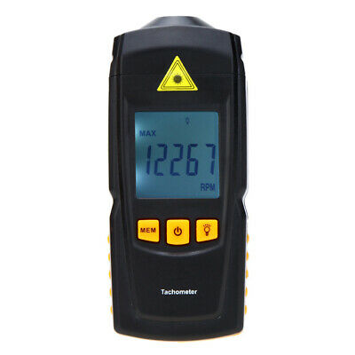 GM8905 Non-contact Digital  Tachometer Rotate Speed Tach Meter F7S1
