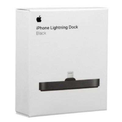 Authentic NEW Apple iPhone Lightning Dock BLACK FOR IPHONE X  IPHONE 8 / 8+ PLUS