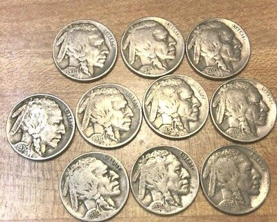 1930 US BUFFALO NICKEL US 5 Cent, 1 nickel from this Lot