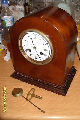 Mantel  Clock Japy Freres  French Striking  On A Bell