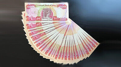 Iraqi Dinar - 500,000 (20) 25,000 Iqd Uncirculated - Quick Delivery!