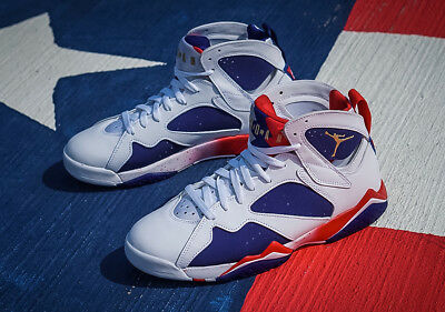 1bdde9e98500bc Nike Air Jordan VII 7 Olympic GOLD USA Tinker Alternate White 304775-123  MENS 18