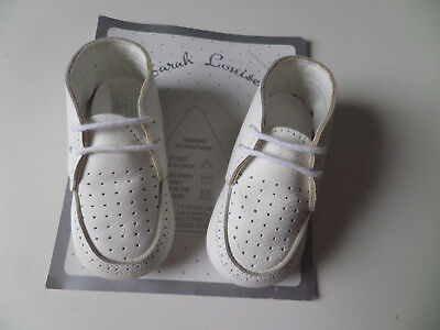 Sarah Louise Baby Boys Christening shoes Size 2 Nib