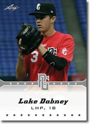10-Count Lot LAKE DABNEY 2013 Leaf Perfect Game Rookie Silver RCs