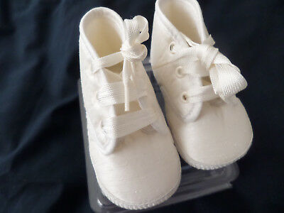 Baby Boys Christening Boots Size Eu18 - Uk 2    3-6 mths Bnib
