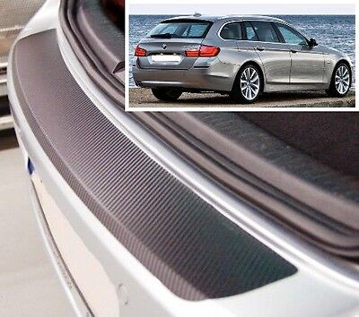 BMW 5 series F11 Touring - Carbon Style rear Bumper Protector