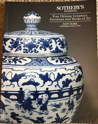 Sotheby's 1993 Fine Chinese Ceramics, Furniture And Works Of Art 6505
