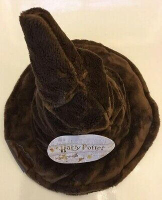Harry Potter Plush Sorting Wizard Hat NWT Licensed Costume Adult Boy Girl
