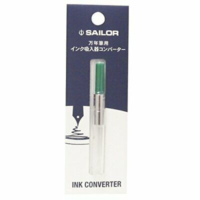 Sailor fountain pen ink inhaler green 14-0506-260 converter JAPAN