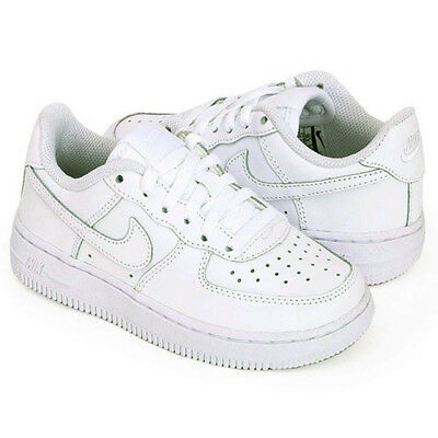 805a6032e705 Nike Air Force 1 PS Kids Children Uptown Classic Leather Low Shoes 314193- 117
