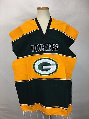 2f3760e6 NFL GREEN BAY Packers Rain Poncho, NEW - $9.99 | PicClick