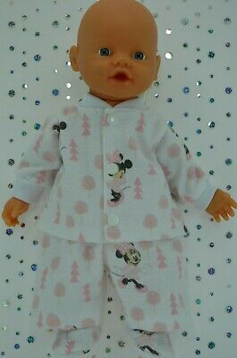 """Play n Wear Doll Clothes For 13"""" My Little Baby Born/Mommy PJ'S~PANTS~TOP~BOOTES"""