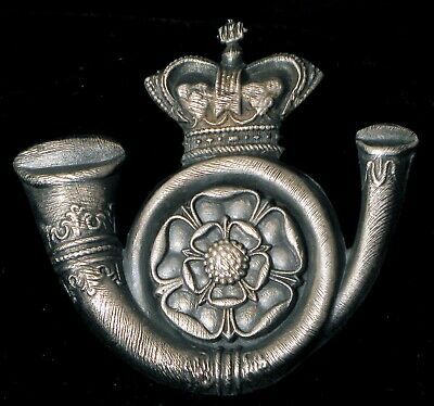 Antique Sterling Silver Or Plated ? Royal English Crown With Horn Brooch / Medal