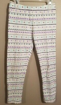 Jumping Beans Girls Patterned Leggings - Size 5