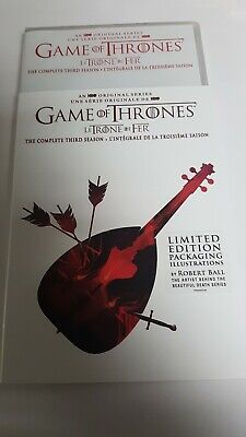 Game of Thrones the complete third season DVD