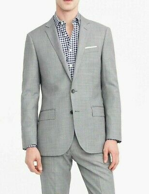 New J CREW 38S Ludlow Slim-fit Suit Jacket in Italian Stretch Worsted Wool $475