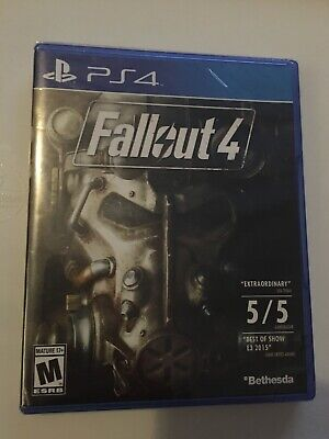 BRAND NEW SEALED PS4 Fallout 4 (Sony PlayStation 4, 2015)