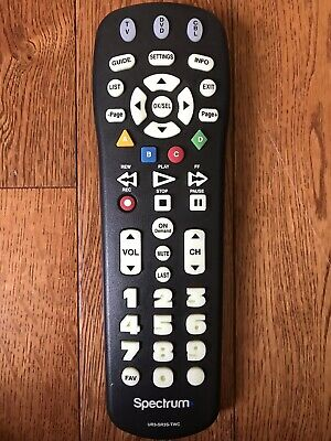 SPECTRUM TIME WARNER Cable Cable Big Button Remote Control