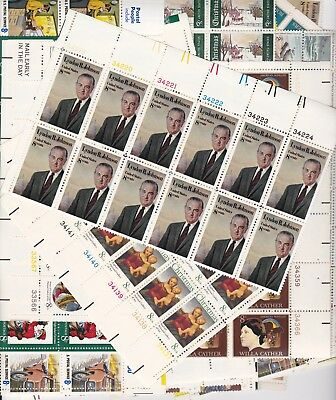 U.S. Mint Stamps - Plate Blocks and Single Stamps