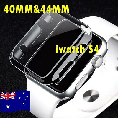 AU Apple Watch Series 4 iWatch 40/44mm Clear TPU Screen Protector Case OZ STOCK