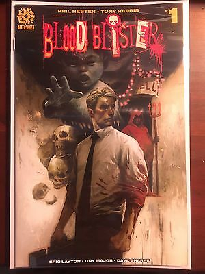 Blood Blister issue #1 1:10 Mike Huddleston Variant VF/NM Aftershock