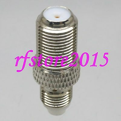 1pce Adapter Connector F TV Feamle jack to FME Female jack RF COAXIAL