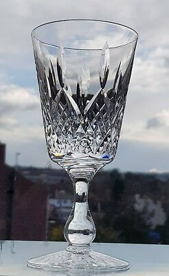 "Stuart Crystal  HAMILTON  GOBLET 6 1/2"" TALL New Condition ""Stamped Stuart"""