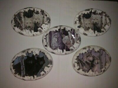 Bradford Exch Plate Wolves Rusty Frentner Spirits Of The The Forest ~ You Chose