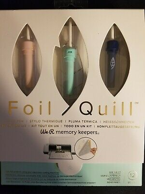 Brand New We R Memories Foil Quill Pen Set