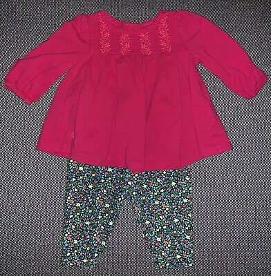 e38a872d5 BABY GIRL OUTFIT Ralph Lauren White Shirt   Juicy Couture Legging 12 ...