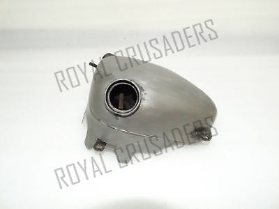 New Triumph Tiger T100 T110 Oil Tank Raw Steel (Reproduction)