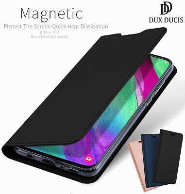 DD For Samsung Galaxy A40 PU Leather Flip Case Wallet Smart Magnetic Skin Cover