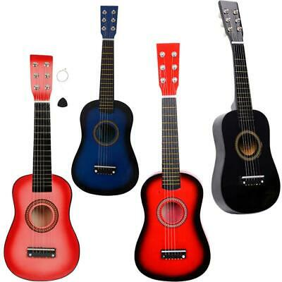 "Acoustic Classic Guitar 21"" 23"" 25"" for Beginners Student / Children 6 Strings"