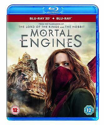 Mortal Engines (3D + 2D) Blu-ray Region Free