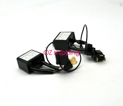 2x H4 Switching adaptor converter For Toyota Hilux & Holden Rodeo LED Headlight