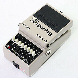 BOSS GE-7 Equalizer Guitar Effect Pedal Free Shipping-08