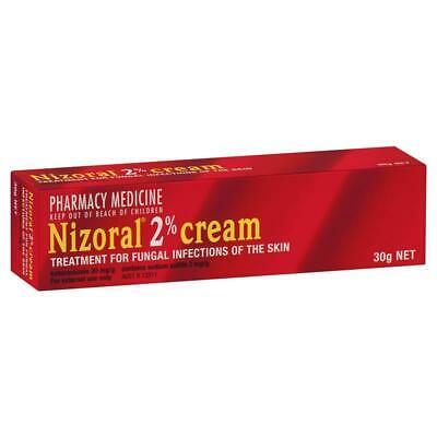 Nizoral 2% Cream 30G Treatment For Fungal Infections Of The Skin
