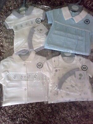 SPANISH STYLE BABY BOY CLOTHES (See Pics & Description) - 3-5lbs, 0-3m, 3-6m