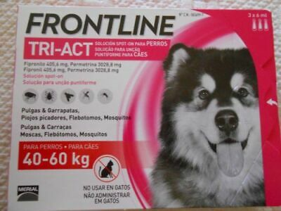 Frontline Tri Act 40 60 Kg 3 Pip
