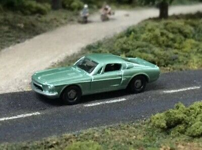 """N Scale 1/144 RARE 68' Ford Mustang Shelby GT500 """"Eleanor"""" R.C."""