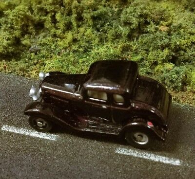 N Scale 1/144 *Last One* Hot Rod Magazine RARE 32' Ford Five Window Coupe R.C.