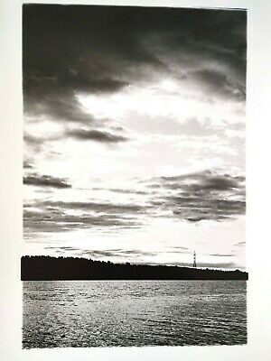 """Authentic Silver Gelatin analogue photo print """"Morning"""""""