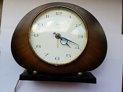 Vintage Tempora Electric Mantel Clock  - SPARES OR REPAIRS ONLY - NEEDS REWIRING