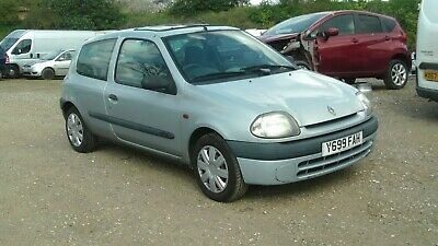 2001 Renault Clio Grande 1.1 Rn Long Mot 2020  As Traded In Starts And Drives