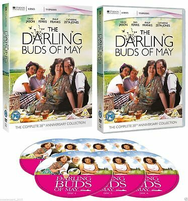THE DARLING BUDS OF MAY the complete TV series 1 2 & 3. 6 discs box set. New DVD