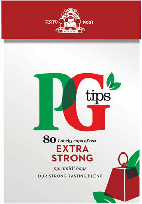 PG Tips Extra Strong Pyramid Tea Bags 2 x 80s